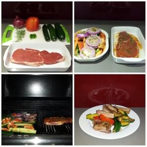 Yummy Steak Dinner!