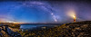 Portland Bill and the Milky Way