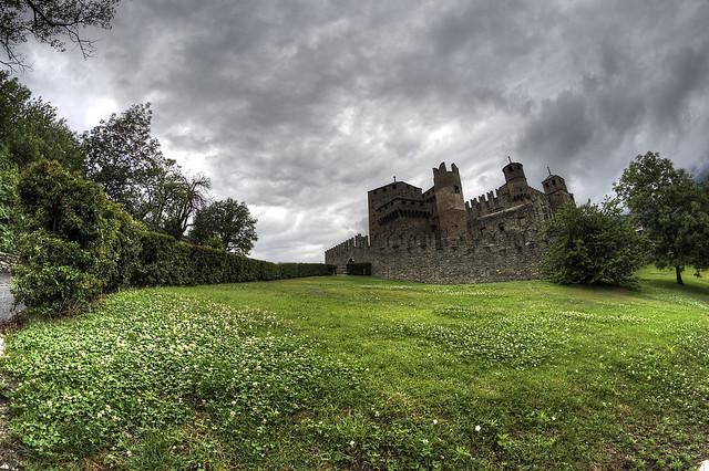 Fenis castle.