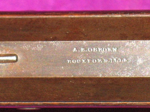 Made By A. S. Osborn, Rockford, Illinois - Maker's Stamp