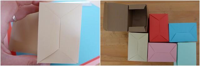 Caixinhas de papel