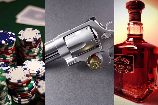 Drugs,Poker and Whiskey