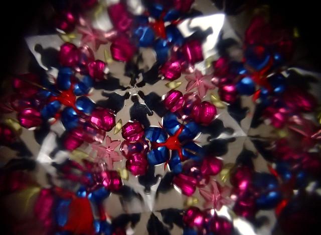 kaleidoscope with figure