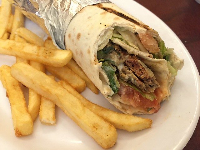 Adana kebab wrapped sandwich - Gryo King