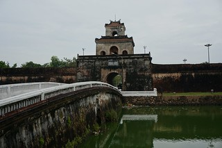 Bridge and gate into Huế's Imperial City
