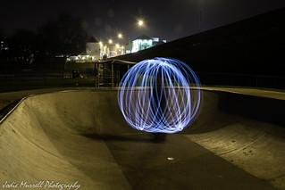 Light spinning