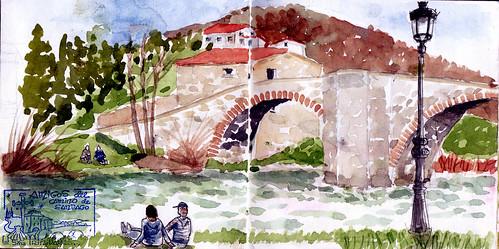 Zubiri-Pamplona/Iruña ( etapa 3 )