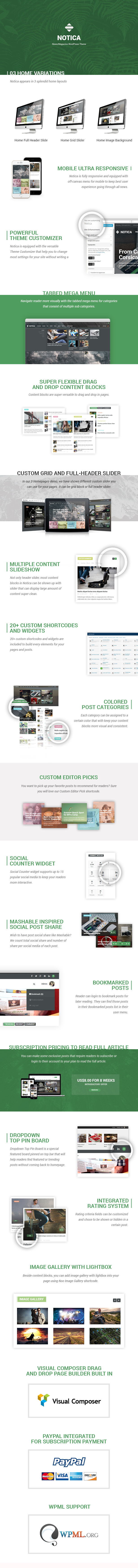 Notica News Magazine WordPress theme
