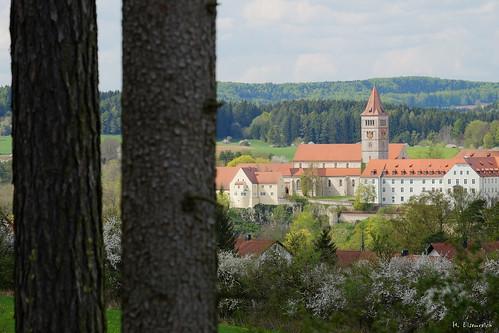 Blick auf die Kastler Klosterburg