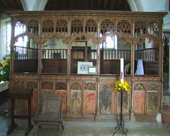 the Barnadiston pew