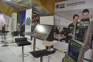 Policía Nacional en la Feria Internacional del Libro de Bogotá