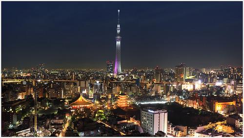 Tokyo Cityscape Panorama 6997