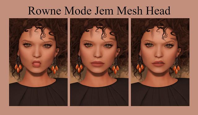 Rowne Mode Jem Mesh Head