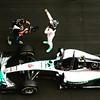 "The feeling was ""Yes"" but not really from last weekend #MonacoGP #F1 #Monaco #MercedesBenz #blackberry #nicoRosberg #camera #media #streets #speed #action #racing"