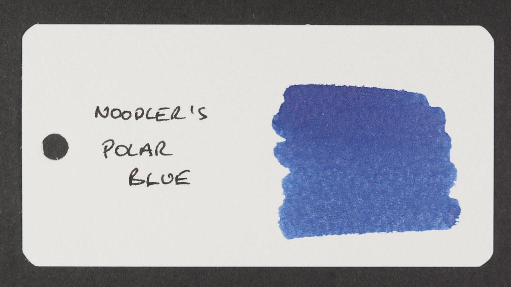 Noodler's Polar Blue - Word Card