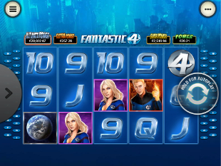 Fantastic Four Mobile slot game online review