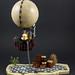 Steampunk - Hot air balloon by LegoFjotten