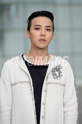 G-Dragon Chanel Show Paris - Press Photos - Getty Wire - 20150127 - 7