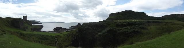 Scotland: Gylen Castle / Kerrera, Fujifilm FinePix S2960
