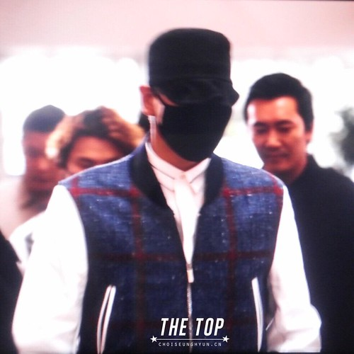 Big Bang - Incheon Airport - 25aug2015 - The TOP - 01