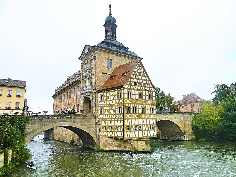 Alte Rathaus in Bamberg, Germany