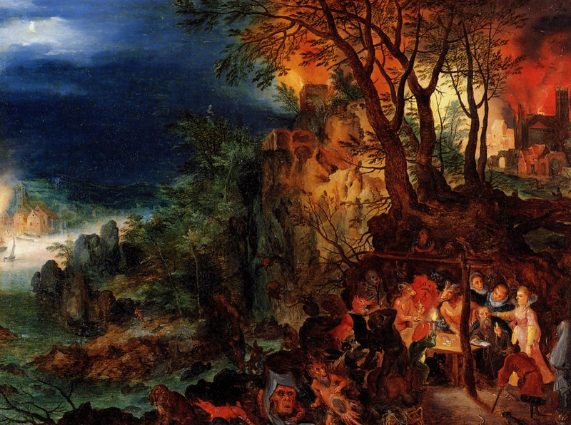 Jan Brueghel the Younger - The Temptation of Saint Anthony, after 1626
