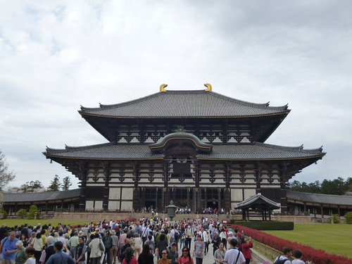 todaji temple great buddha hall