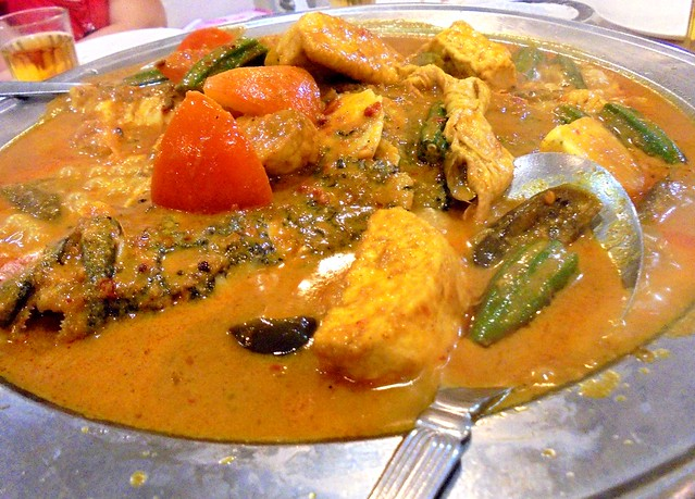 Sheraton fish head curry