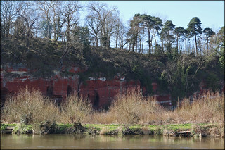 Severn Springtime, with caves