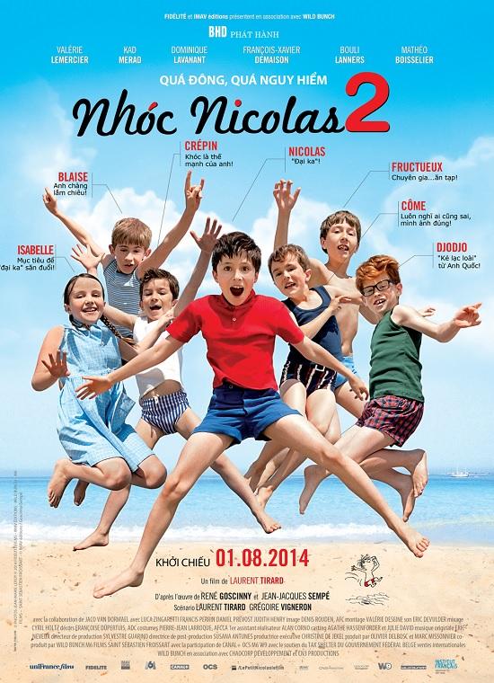 Nhóc Nicolas 2 - Nicolas on Holiday 2015 [Phim Hài]