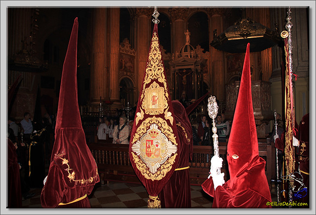 Semana Santa en Málaga. Cofradia de Viñeros (8)