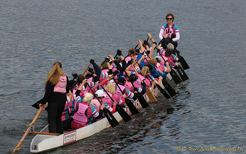 Teamwork -Dragon Boat team