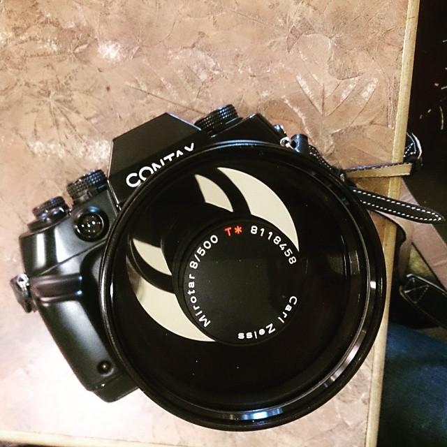 CONTAX 500mm F8 mirotar T* SONY A7實測