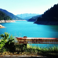 Middle of #Cougar #Reservoir in #Willamette #National #Forest  #Oregon #OR #Wilderness #Recreation #Art