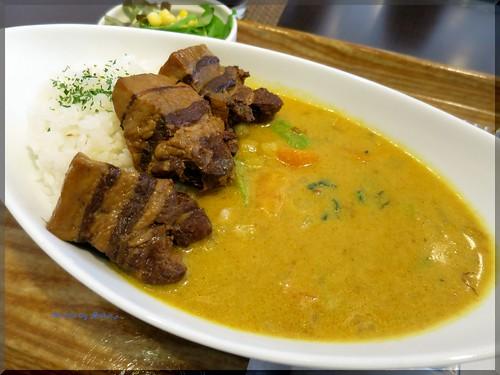 Photo:2015-04-22_築地記録帳_場外:Lino カフェ飯のカレーはなかなか本格的で美味なり!_02 By:logtaka