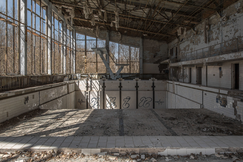 Pripyat Swimming Pool - 'AKA' Team Moon Whistle Pool | Flickr
