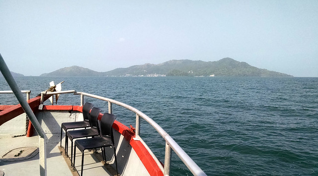 The ferry to Isla Taboga