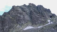 Nasz cel -południowa ściana Batyżowieckiego Szczytu - Droga Kutty.