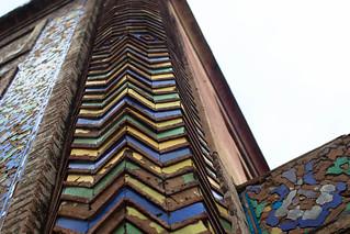 Attēls no Wazir Khan Mosque pie Lahora. lahore mosque pakistan tiles travel