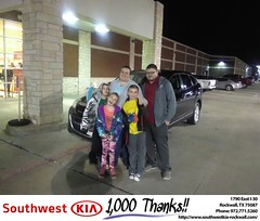 #HappyBirthday to Jacob & Alicia from Gary Guyette Jr at Southwest KIA Rockwall!