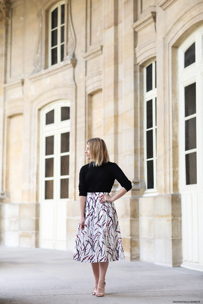 Shooting photo with blogger Margot (You MaKe Fashion), Paris