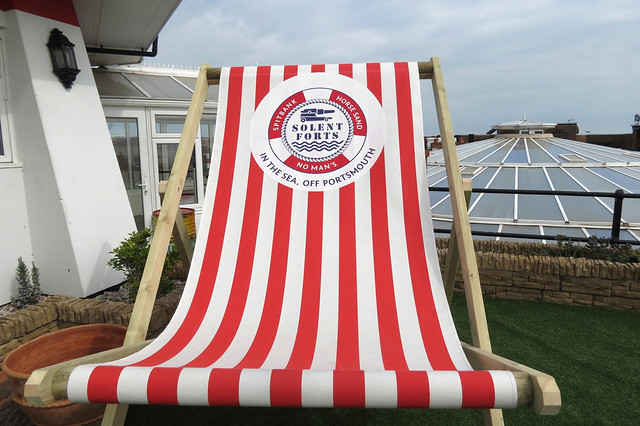 Giant Deckchair, No Mans Land Fort
