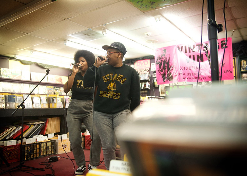 THEEsatisfaction @ Vintage Vinyl