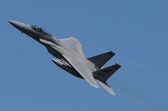 aviation, airplane, wing, vehicle, mcdonnell douglas f-15 eagle, fighter aircraft, jet aircraft, air force, air show,