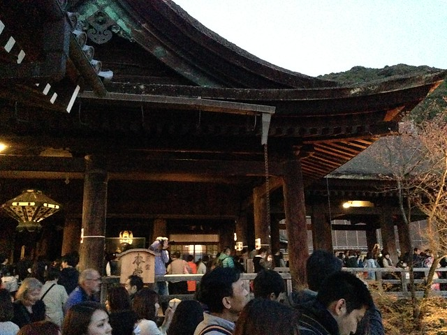 Main hall at Kiyomizu-dera Temple
