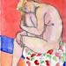 Blue heart by eschongut