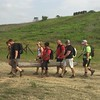 Carrying a log!! #GoRuck #armadastrong