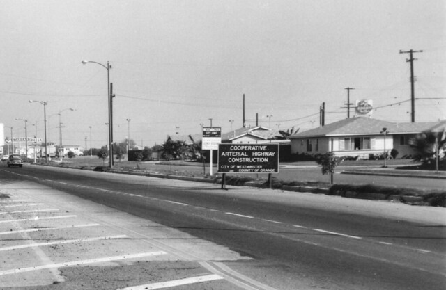 Westminster City Limit, Bolsa Ave at Eden St., Aug. 1962