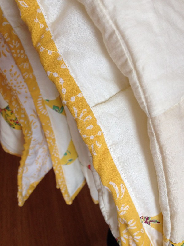 Yellow Quilt Binding