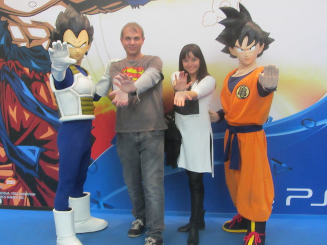 Goku, Vegeta, Bea y yo